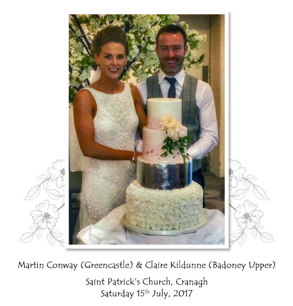 Martin and Claire Conway